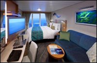 Superior Outside View Stateroom with Balcony