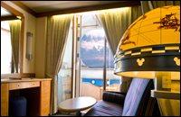 Deluxe Oceanview Stateroom with Navigator's Verandah