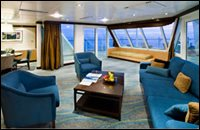 Aquatheater Suite with Balcony - Deck 8