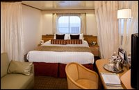 Large Outside Stateroom (partial sea views)