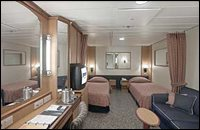 Inside Single Stateroom