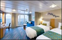 Family Outside View Stateroom with Balcony