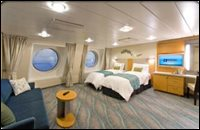 Family Outside View Stateroom