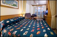 Verandah Stateroom with Restrictions