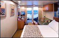 Deluxe Ocean-View Verandah Stateroom
