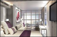 Edge Stateroom with Infinite Veranda