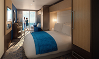 Super Studio Ocean View Stateroom with Balcony