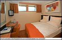 Deluxe Stateroom with Half-Height Windows