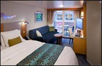 Boardwalk View Stateroom with Balcony