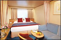 Large Outside Stateroom (partial sea view)