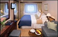 Club Oceanview Stateroom (porthole windows)