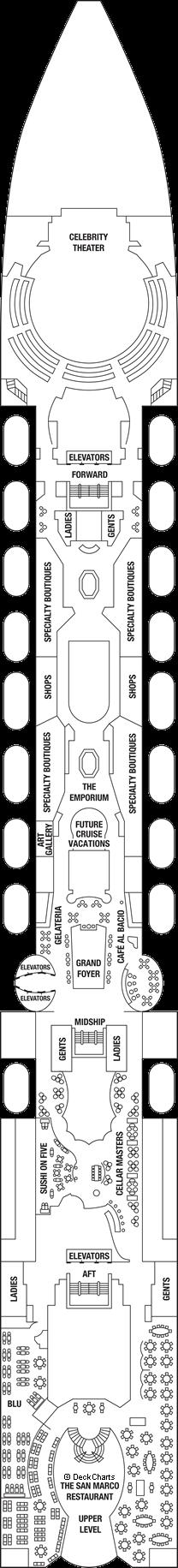 Celebrity Constellation: Deck 5