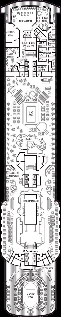 Zaandam: Lido Deck