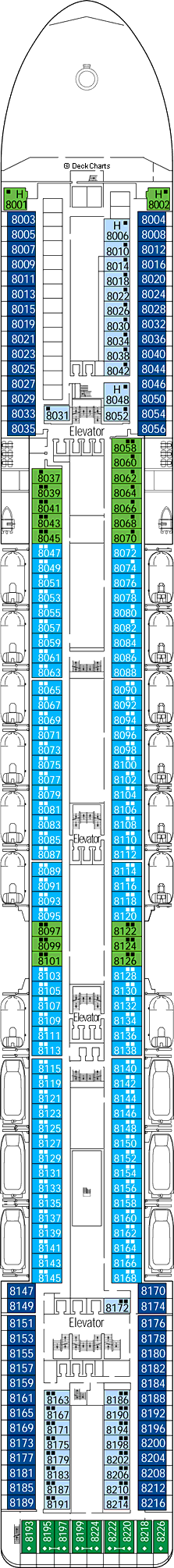 MSC Magnifica: Deck 8