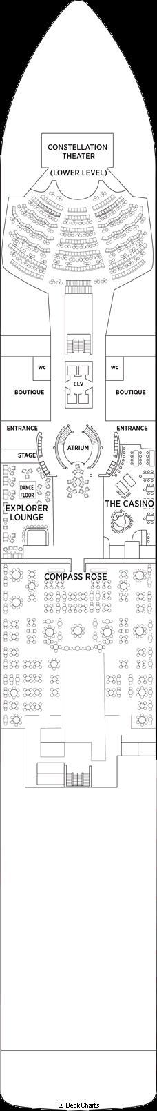 Seven Seas Explorer: Deck 4