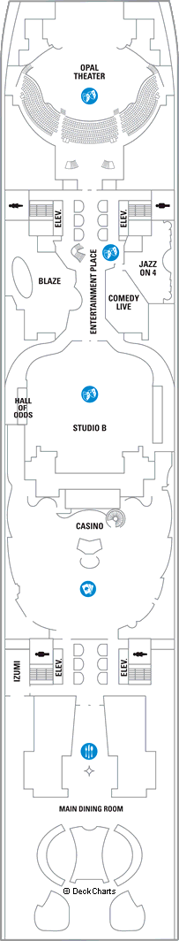 Oasis of the Seas: Deck 4