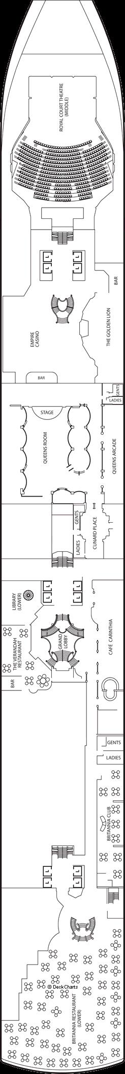 Queen Elizabeth: Deck 2