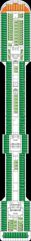 MSC Fantasia: Meraviglia Deck