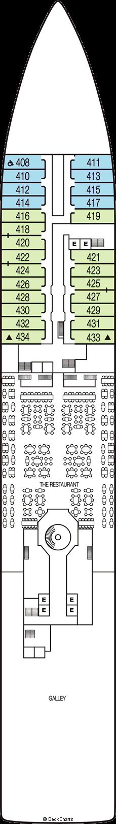 Seabourn Sojourn: Deck 4
