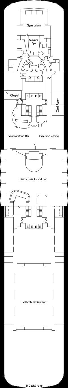 Costa neoRomantica: Verona Deck