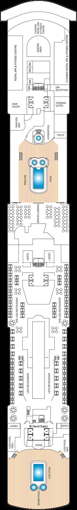 Queen Victoria: Deck 9