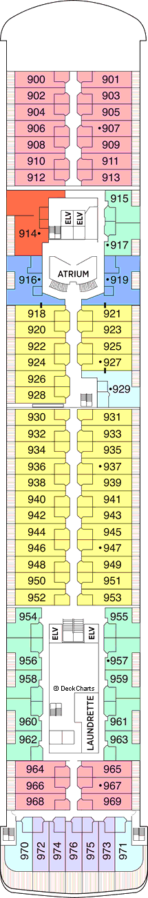 Seven Seas Voyager: Deck 9