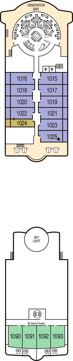 Seabourn Odyssey: Deck 10