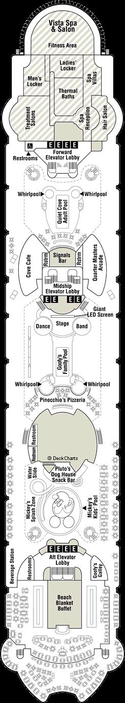 Disney Wonder: Deck 9