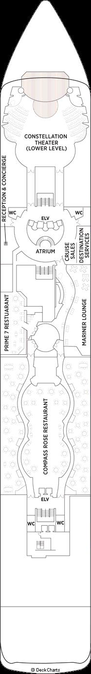 Seven Seas Mariner: Deck 5