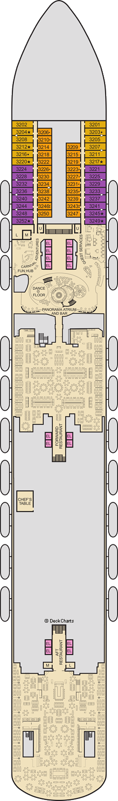 Carnival Panorama : Lobby Deck