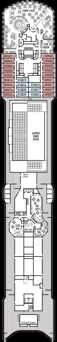 Noordam: Observation Deck