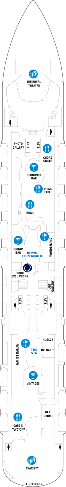 Anthem of the Seas: Deck 5