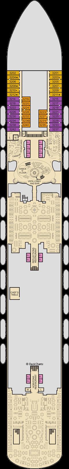 Carnival Vista: Lobby Deck