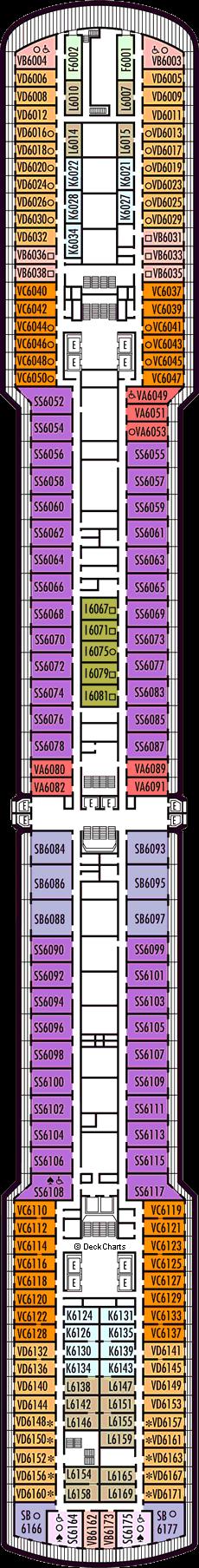 Noordam: Upper Verandah Deck