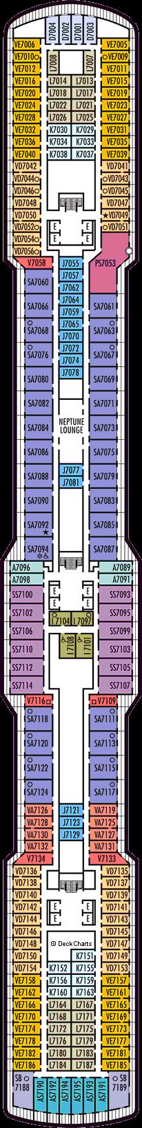 Koningsdam: Schubert Deck