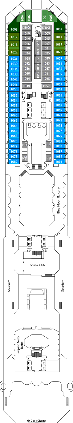 Costa Fascinosa: Turandot Deck