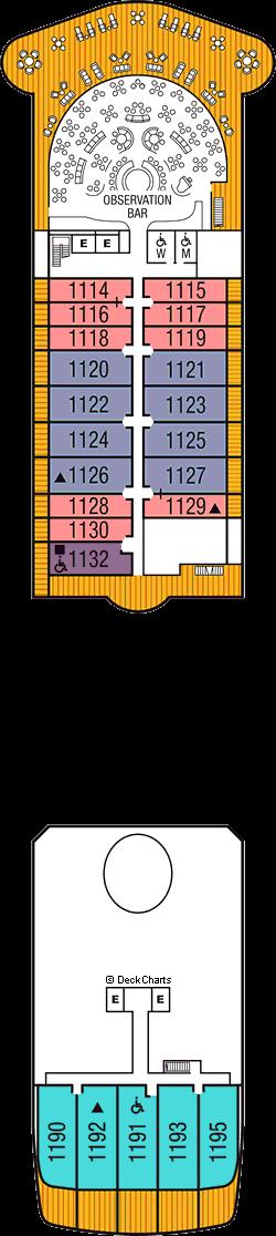 Seabourn Ovation: Deck 11