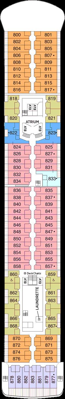 Seven Seas Voyager: Deck 8