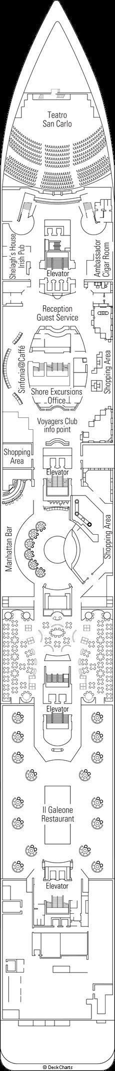 MSC Sinfonia: Beethoven Deck