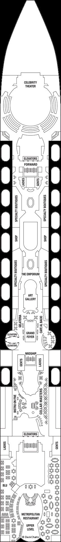 Celebrity Millennium: Deck 5