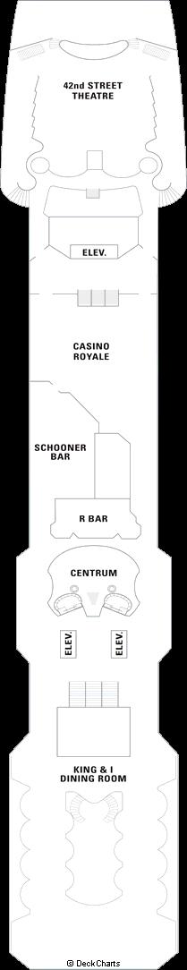 Splendour of the Seas: Deck 4