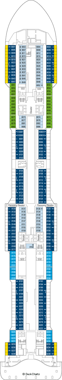 MSC Meraviglia: Machu Picchu Deck