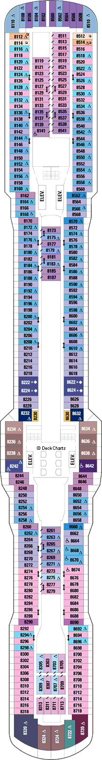Quantum of the Seas: Deck 8