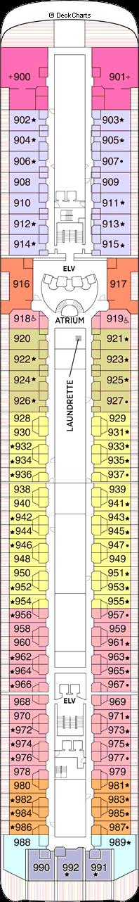 Seven Seas Mariner: Deck 9