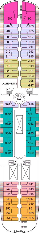 Seven Seas Navigator: Deck 9