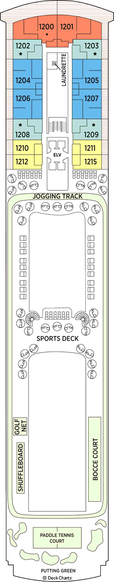 Seven Seas Explorer: Deck 12