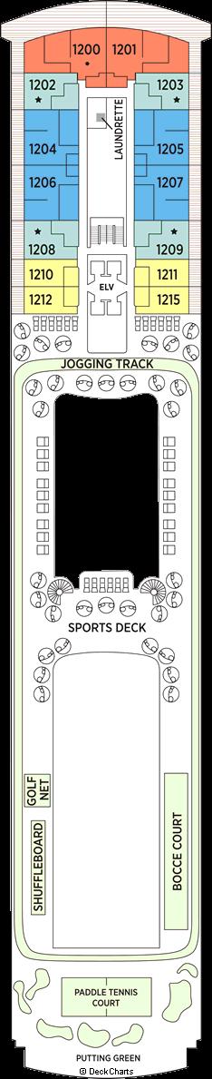 Seven Seas Explorer: Deck 12