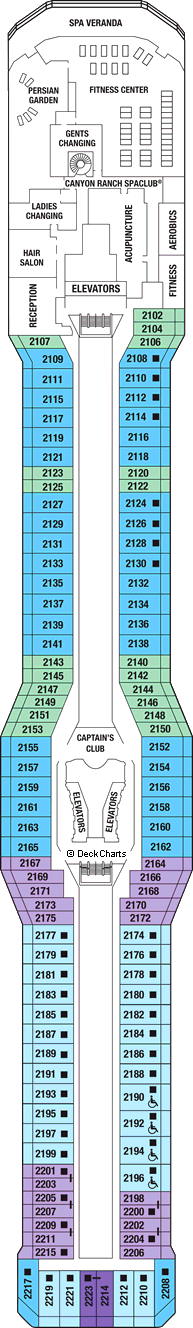 Celebrity Reflection Deck Plans Ship Layout Staterooms Cruise - Celebrity reflection deck plan