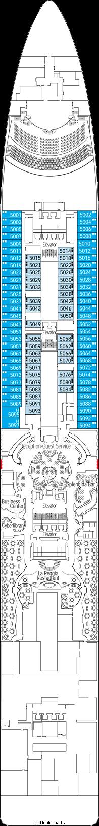 MSC Splendida - Deck Plans, Reviews & Pictures - TripAdvisor