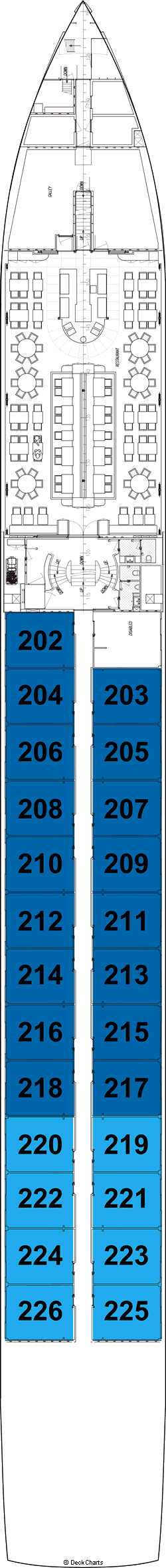 Avalon Visionary: Sapphire Deck